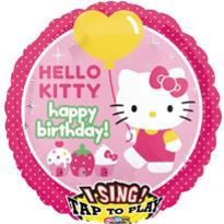Hello Kitty Balloon - Singing