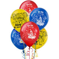 Jake and the Never Land Pirates Balloons 12in 6ct