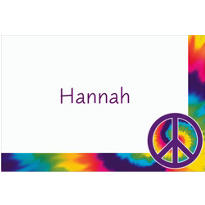 Feeling Groovy Custom Thank You Note