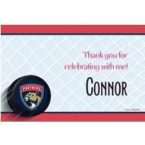 Florida Panthers Custom Thank You Note