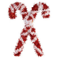 Tinsel Candy Canes