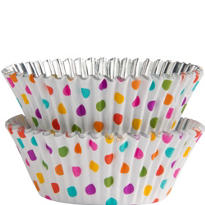 Rainbow Dots Baking Cups 36ct