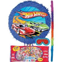 Pull String Hot Wheels Pinata Kit