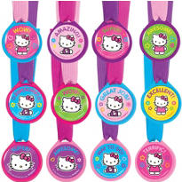 Hello Kitty Award Medals 12ct