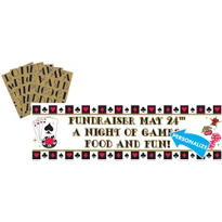 Place Your Bets Casino Personalized Banner