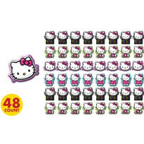 Neon Hello Kitty Erasers 48ct