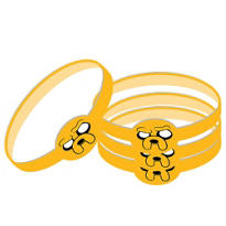 Adventure Time Wristbands 4ct