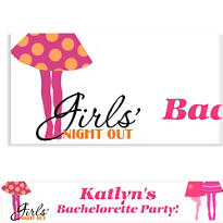 Girls' Night Out Custom Banner