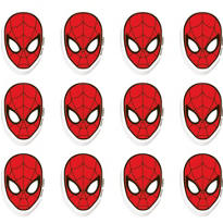 Spider-Man Erasers 12ct