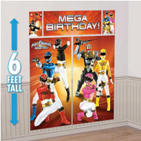 Power Rangers Megaforce Scene Setter 5pc