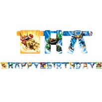 Skylanders Happy Birthday Banner