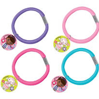 Doc McStuffins Hair Bands 4ct