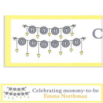 Baby Clothesline Neutral Custom Banner
