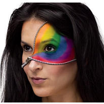 Rainbow Zipper Makeup Kit