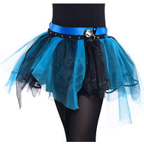 Girls Blue Monster High Tutu