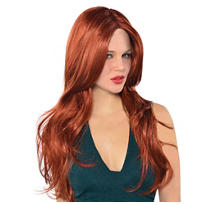 Hot Honey Red Wig