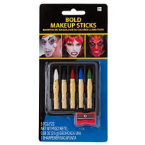 Bold Makeup Crayon Set 6pc