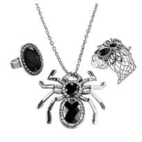 Spider Jewelry Set 3pc