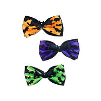 Bat Hair Bows 3ct
