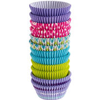 Pastel Dot & Chevron Baking Cups 300ct