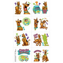 Scooby-Doo Tattoos 1 Sheet