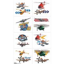 Planes Tattoos 1 Sheet