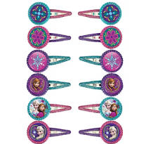 Frozen Hair Clips 12ct