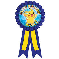 Pokemon Award Ribbon