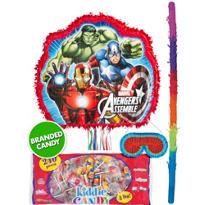 Pull String Avengers Pinata Kit