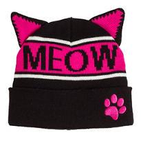 Meow Cat Ear Beanie
