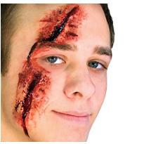 Slashed Eye Prosthetics