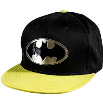 Metal Plate Batman Baseball Hat