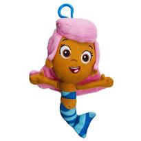 Clip-On Bubble Guppies Molly Plush
