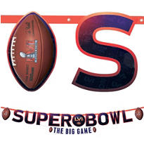 Super Bowl Banners 2ct
