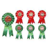Ugly Sweater Party Award Ribbons 7ct