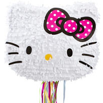 Pull String Hello Kitty Pinata