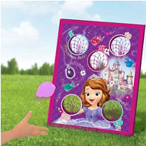Sofia the First Bean Bag Toss Game 5pc