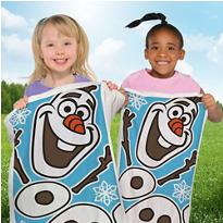 Frozen Potato Sack Race Bags 6ct