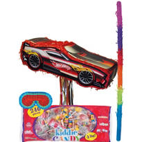 Pull String Hot Wheels Pinata Kit