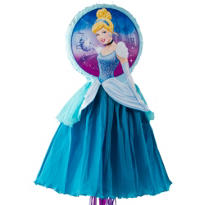 Pull String Cinderella Pinata Deluxe