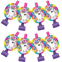 Lisa Frank Rainbow Horse Blowouts 8ct