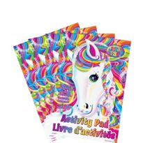 Lisa Frank Rainbow Horse Activity Books 4ct