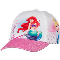 Child Glitter Disney Princess Baseball Hat
