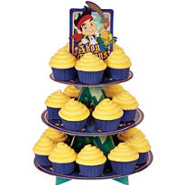 Jake and the Never Land Pirates Cupcake Stand