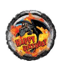Happy Birthday How To Train Your Dragon Balloon