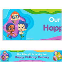 Bubble Guppies Custom Banner