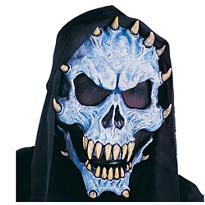 Blue Demon Horror Mask