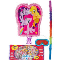 Pull String Pink My Little Pony Pinata Kit