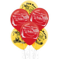 Cars Balloons 6ct
