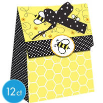 Bumblebee Baby Shower Favor Boxes 12ct